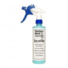 Poorboy's World Spray & Wipe Waterless Wash 473ml
