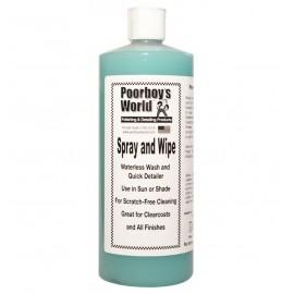 Poorboy's World Spray & Wipe Waterless Wash 946mlml